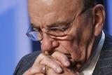 Rupert Murdoch at the World Economic Forum.