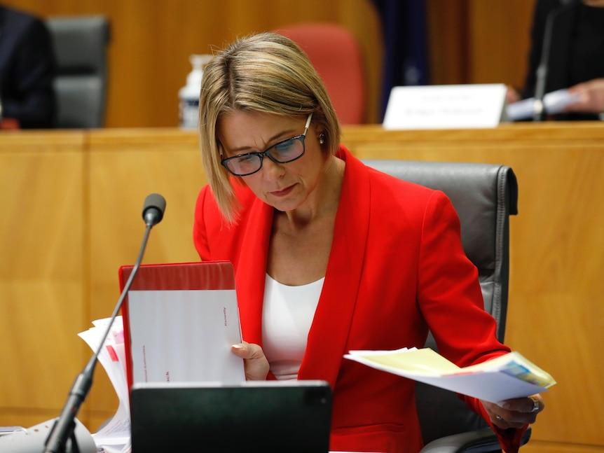 Kristina Keneally in Senate Estimates