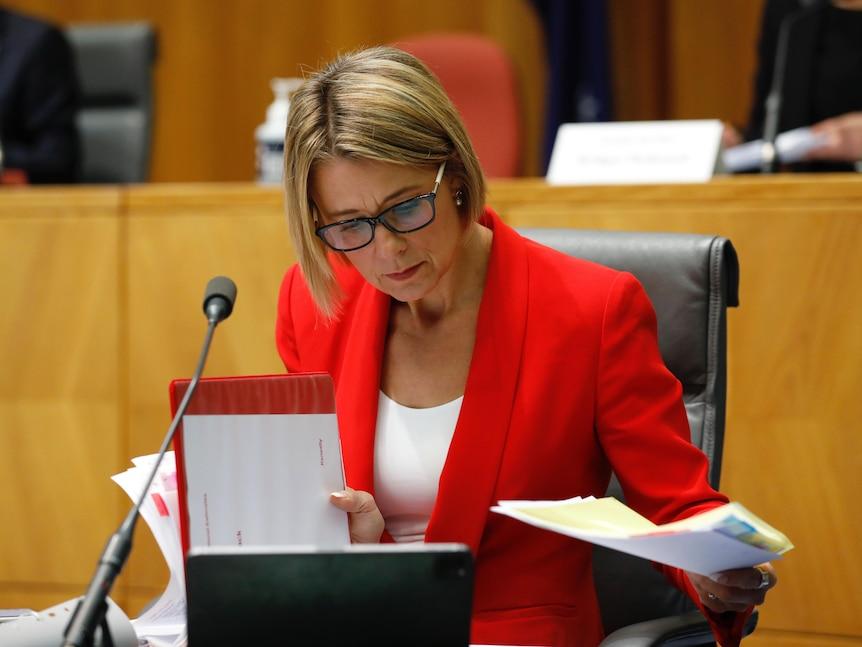 Kristina Keneally in Senate Estimates