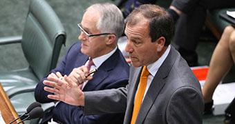 Mal Brough addresses Parliament