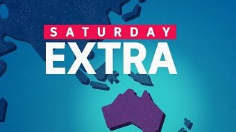 The logo for ABC RN program Saturday Extra.