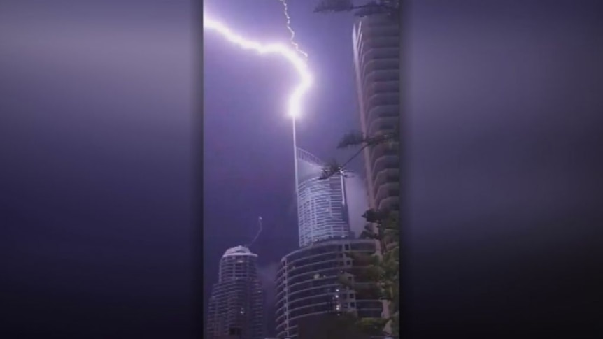 Brisbane storms cut power to 130,000 homes