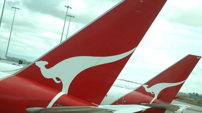 Qantas has launched an investigation into the incident.