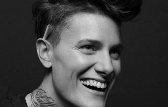 Casey Legler smiles