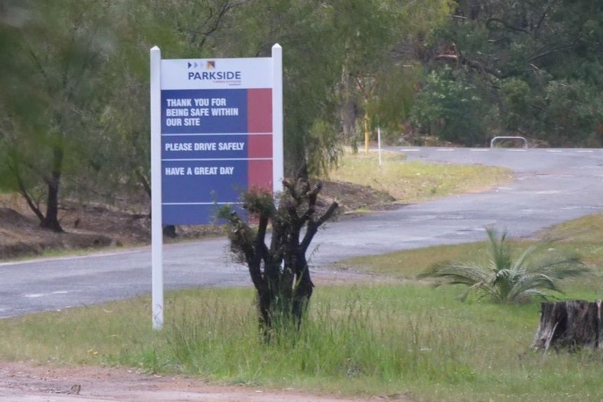 A sign outside a Nannup factory