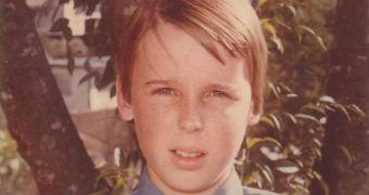Antony Funnell as a schoolboy