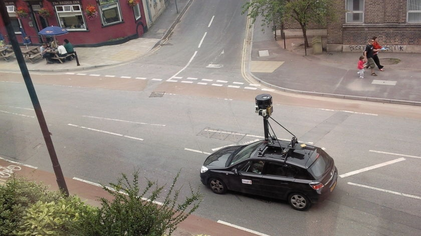 'A mistake': the data was collected by Google vehicles as they drove streets taking photos for the Street View service