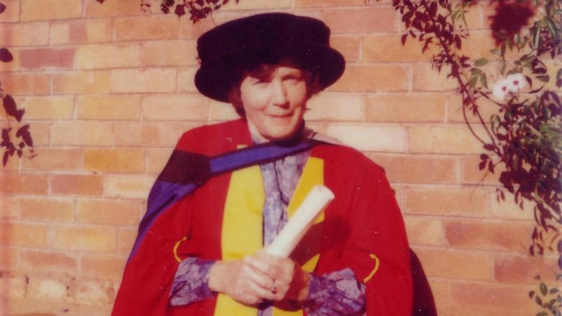 Priscilla Kincaid-Smith at her university graduation