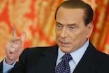 Italy's former prime minister Silvio Berlusconi