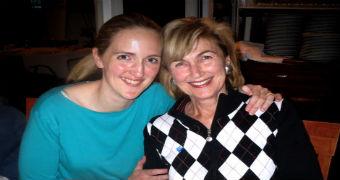 Katrina Dawson and her mother Jane.