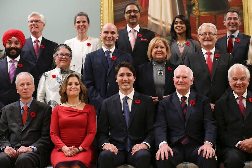 Canada's new cabinet