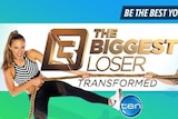 A promotional image of the Ten Network biggest loser program