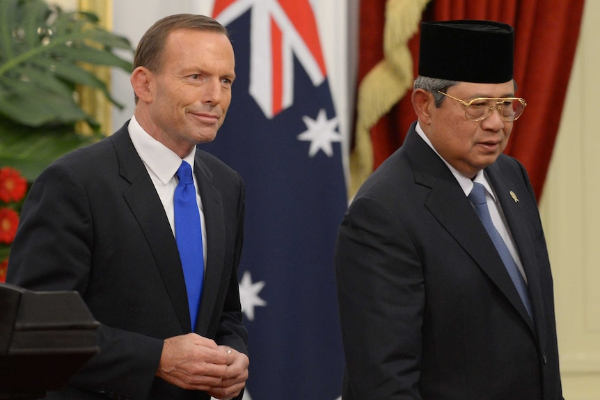 Australia has not yet committed to a code of ethics but has agreed to talk to the Indonesians.
