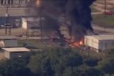 Texas chemical plant fire triggers evacuation