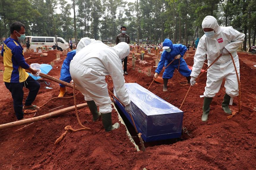Indonesia burial
