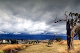 Storm rolls in over Canberra. Taken February 19, 2014.