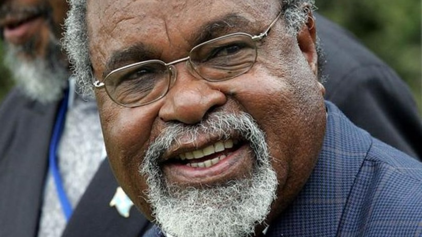 PNG Prime Minister Sir Michael Somare.