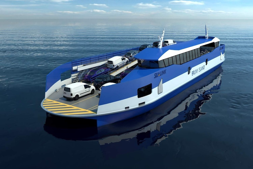 New SeaLink ferry for Bruny Island