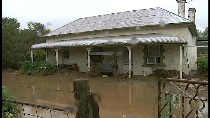 Town still dealing with flood aftermath