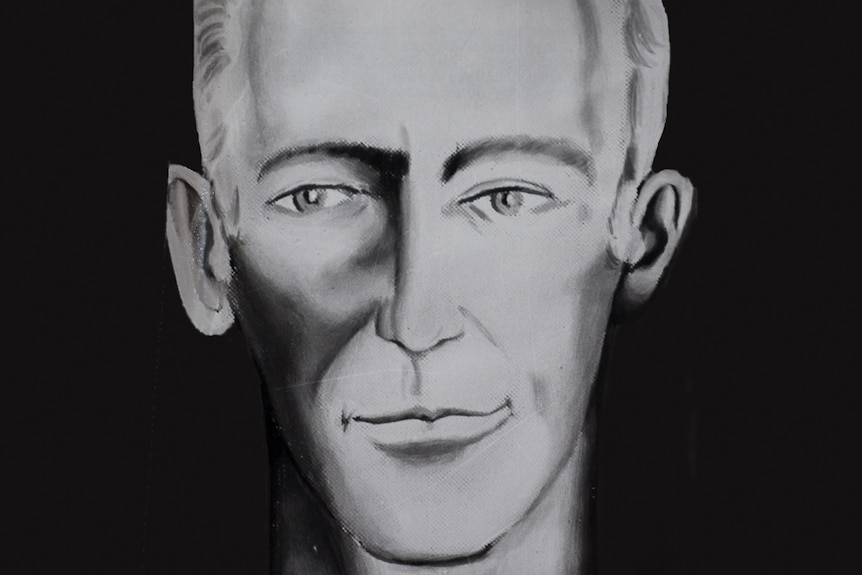 An enhanced composite sketch of the suspect sought for Beaumont children disappearance.