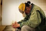 Homeless man, generic image.
