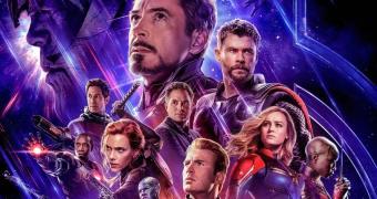 Poster for Marvel film Avengers: Endgame.