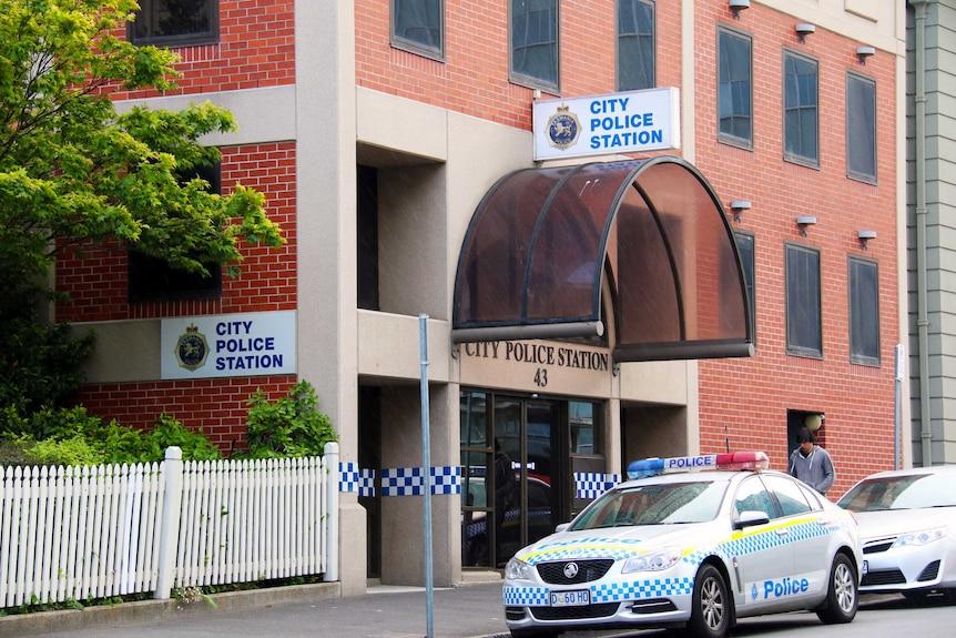 Hobart city police station