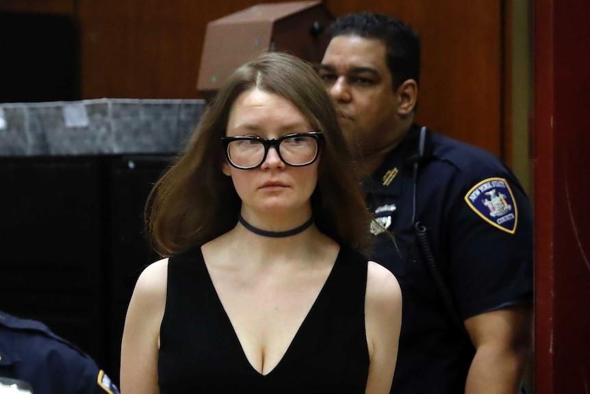 Anna Sorokin court arrival