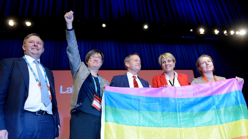 Labor maintain conscience vote on same-sex marriage at ALP conference
