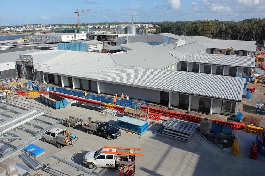 Sunshine Coast University Hospital's new mental health facility.