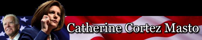 Catherine Cortez Masto VP banner