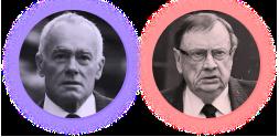 John Poynton and Harold Mitchell