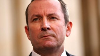 A close up of Mark McGowan.