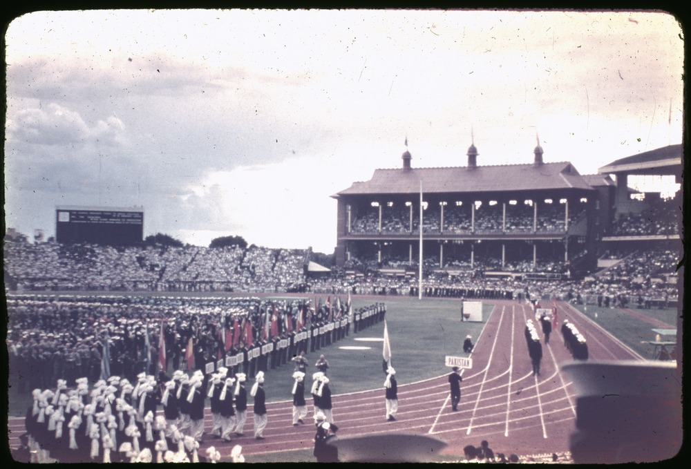 Melbourne Olympic games Opening Ceremony, November 1956