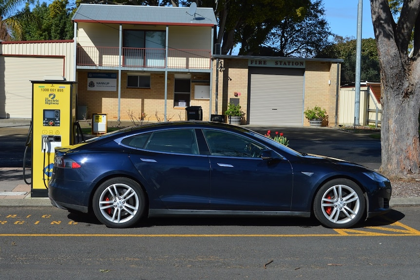 Electric car charging in Nannup