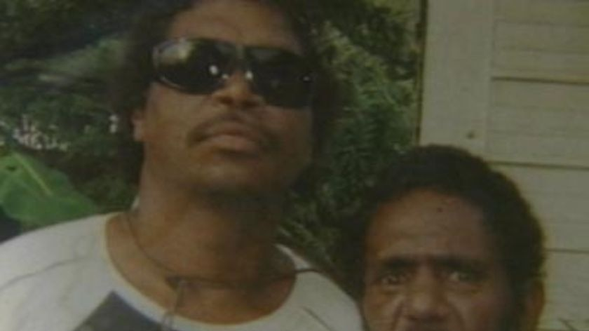 Cameron Doomadgee (left) died in the Palm Island watch-house in 2004.