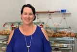 Wudinna Bakery manager Liz Habermann.