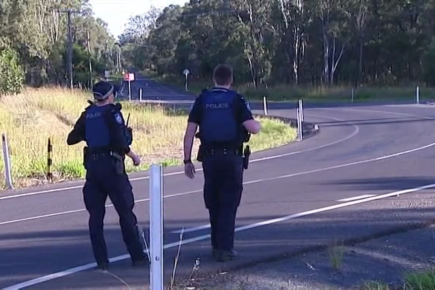 Emergency services on scene of police shooting in the Lockyer Valley
