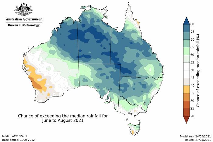 BOM winter rainfall map