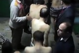 Men accused of homosexual acts escorted from Cairo bathhouse