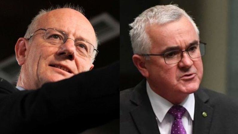Tim Costello and Andrew Wilkie MP
