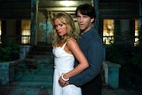 Anna Paquin and Stephen Moyer play Sookie Stackhouse and Bill Compton in True Blood.