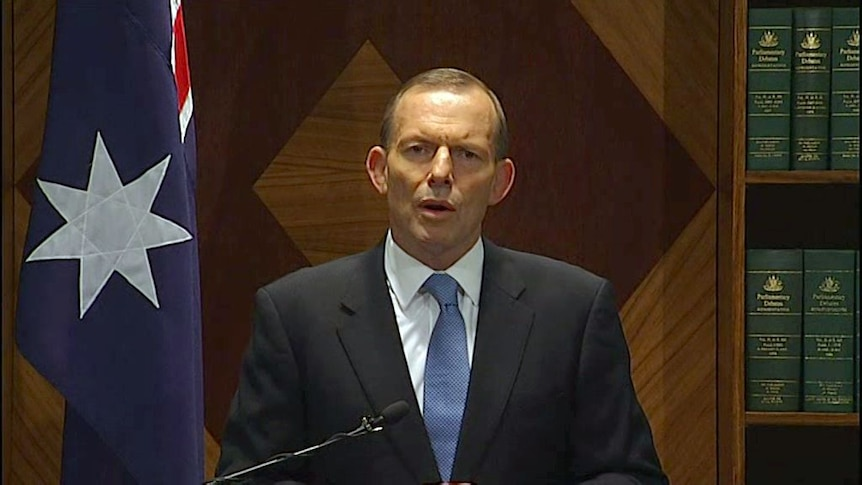 Abbott confident our relationship with Indonesia will continue to grow