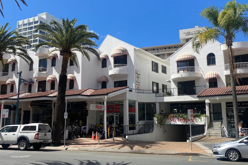 A resort in Surfers Paradise.