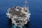 US aircraft carrier the USS John C Stennis