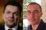 Nick Xenophon and Tim Storer composite