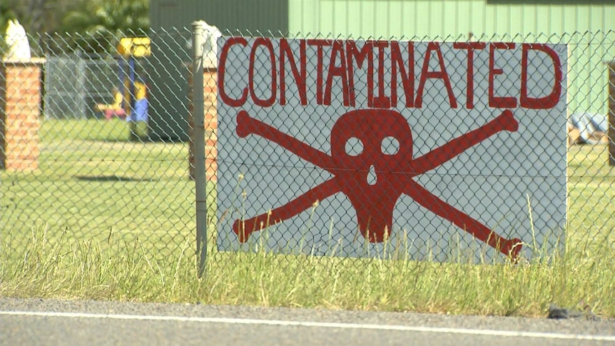Toxic foam contamination leaves families living in fear