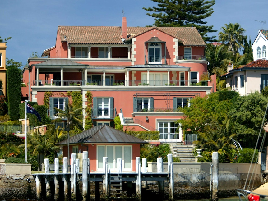 Point Piper home of Malcolm Turnbull
