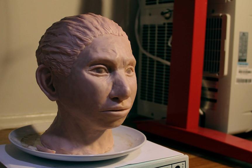 Statue of a Denisovan