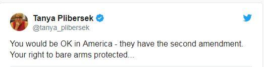A screenshot of a tweet by Deputy Labor leader Tanya Plibersek